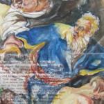 My painting of Abraham sacrificing Isaac